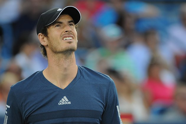 Andy Murray, seen here in Cincinnati last week, looks up to the U.S. Open draw gods and wonders what he did to anger them. (Photo by Jonathan Moore/Ge...