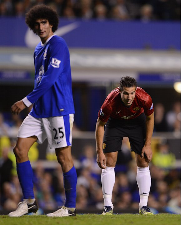 Van Persie's Man United debut