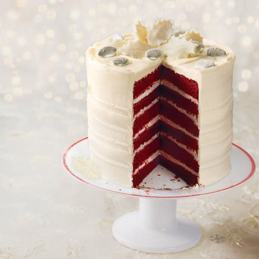 Tayongzki Cares: Frosted red velvet layer cake