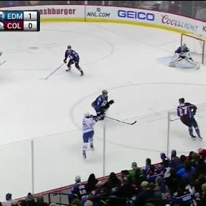 Semyon Varlamov Save on Matt Fraser (08:47/1st)