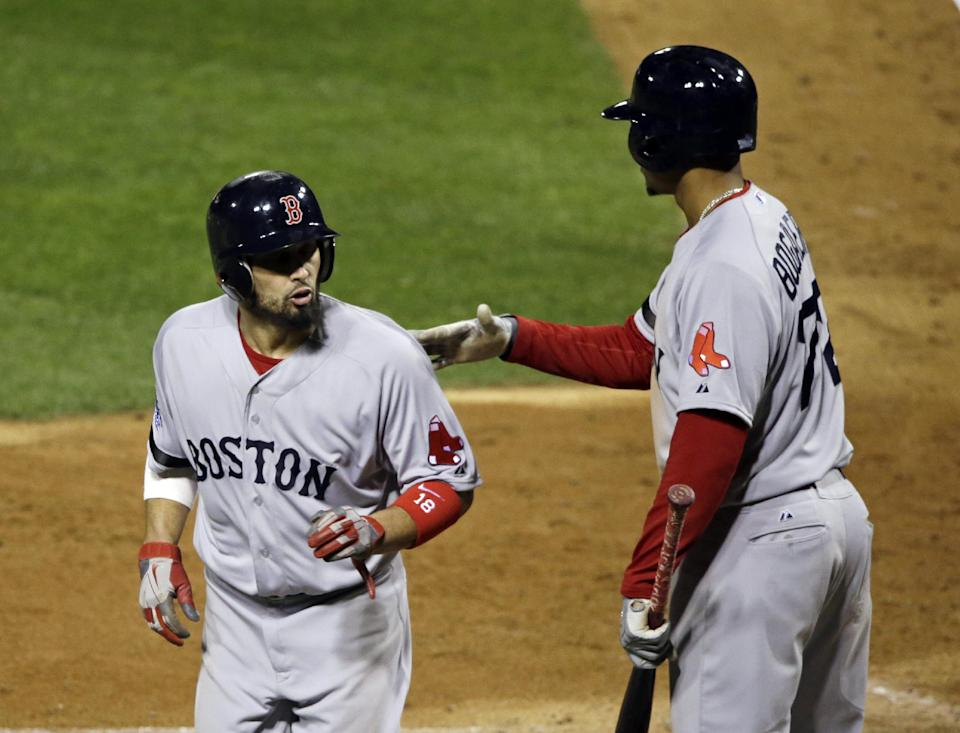 Red Sox and Cards 2-2 after 6 innings in WS Game 3