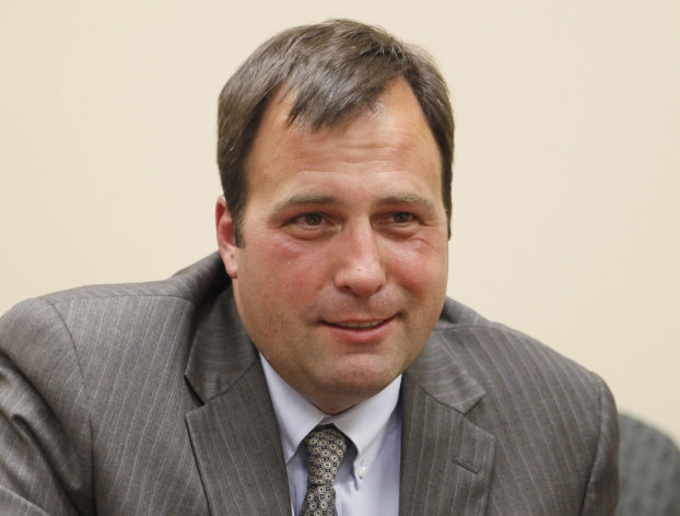 This photo taken June 27, 2012 shows Sedgwick County assistant district attorney Marc Bennett who is running for the office of district attorney, in Wichita, Kan. (AP Photo/The Wichita Eagle, Jaime Green)