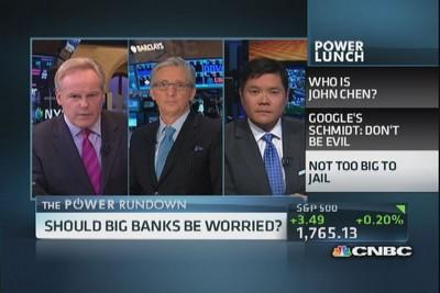 Should big banks be worried?