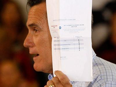 Romney: I have a 'report card' for Obama