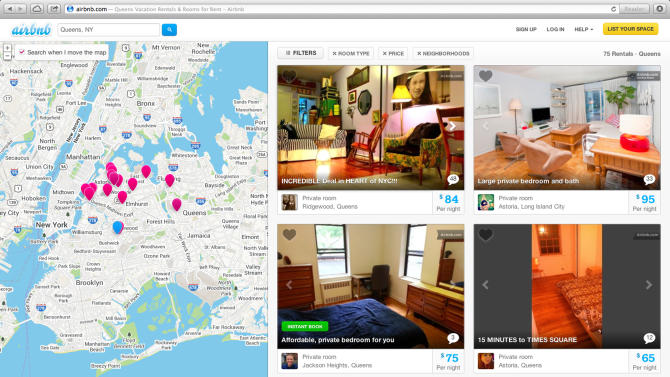 NY fights site listing homes for tourists to rent