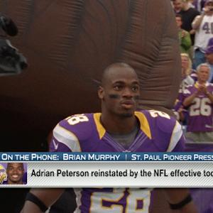 What's the Minnesota Vikings stance on Adrian Peterson?