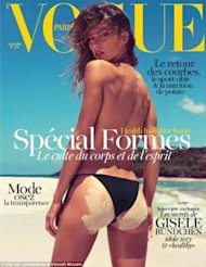 Portada Gisele Bundchen Vogue Paris