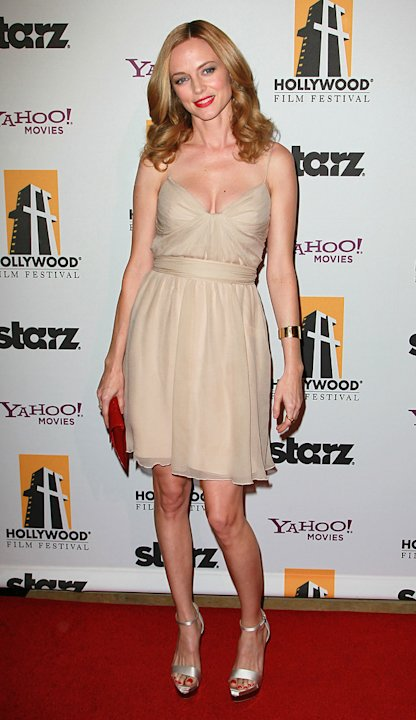 2010 Hollywood Awards Heather Graham