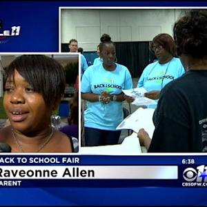 Families Crowd Fair Park For 'Back To School' Fair