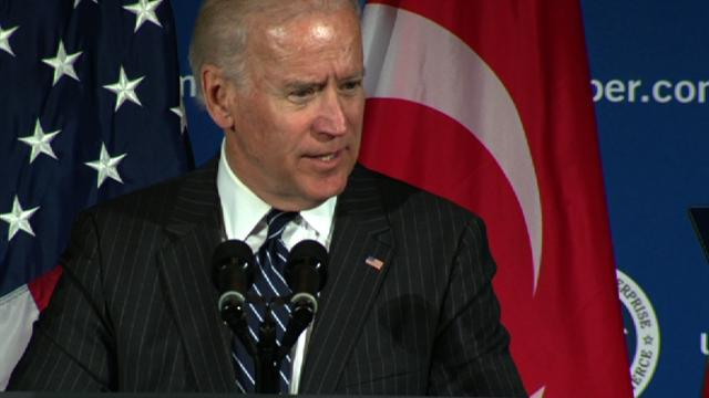 "Biden: Turkey's success ""in the naked self-interest"" of U.S."