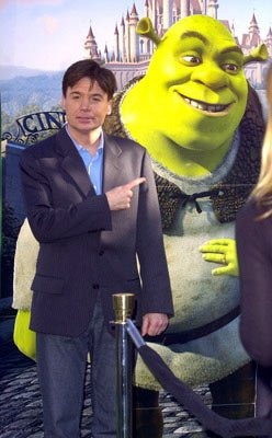 Mike Myers at the L.A. premiere of Dreamworks' Shrek 2
