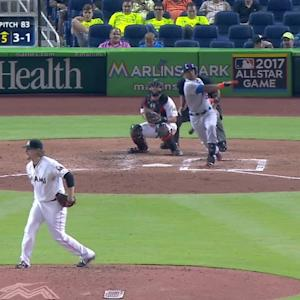 Cespedes' two-run double