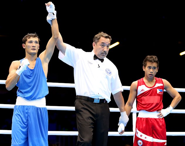 Mark Anthony Barriga loses by 1 point to Kazakh Birzhan Zhakypov