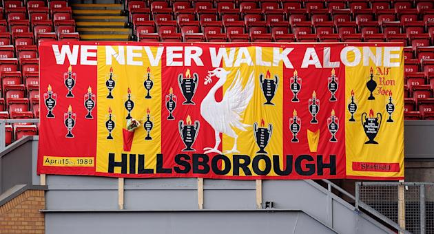 Liverpool FC Hold 24th Hillsborough Anniversary Memorial Service