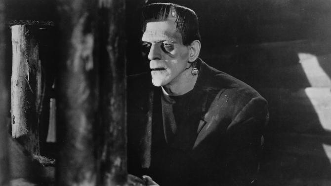 "** FILE ** In this file photo released by Universal Studios Home Entertainment, British actor Boris Karloff appears in a scene from the 1931 classic film ""Frankenstein.""  (AP Photo/Universal Studios Home Entertainment, File)"