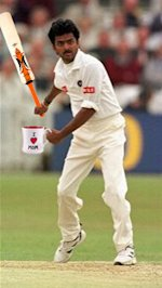 Venkatpathy Raju: No mug with the bat, not.
