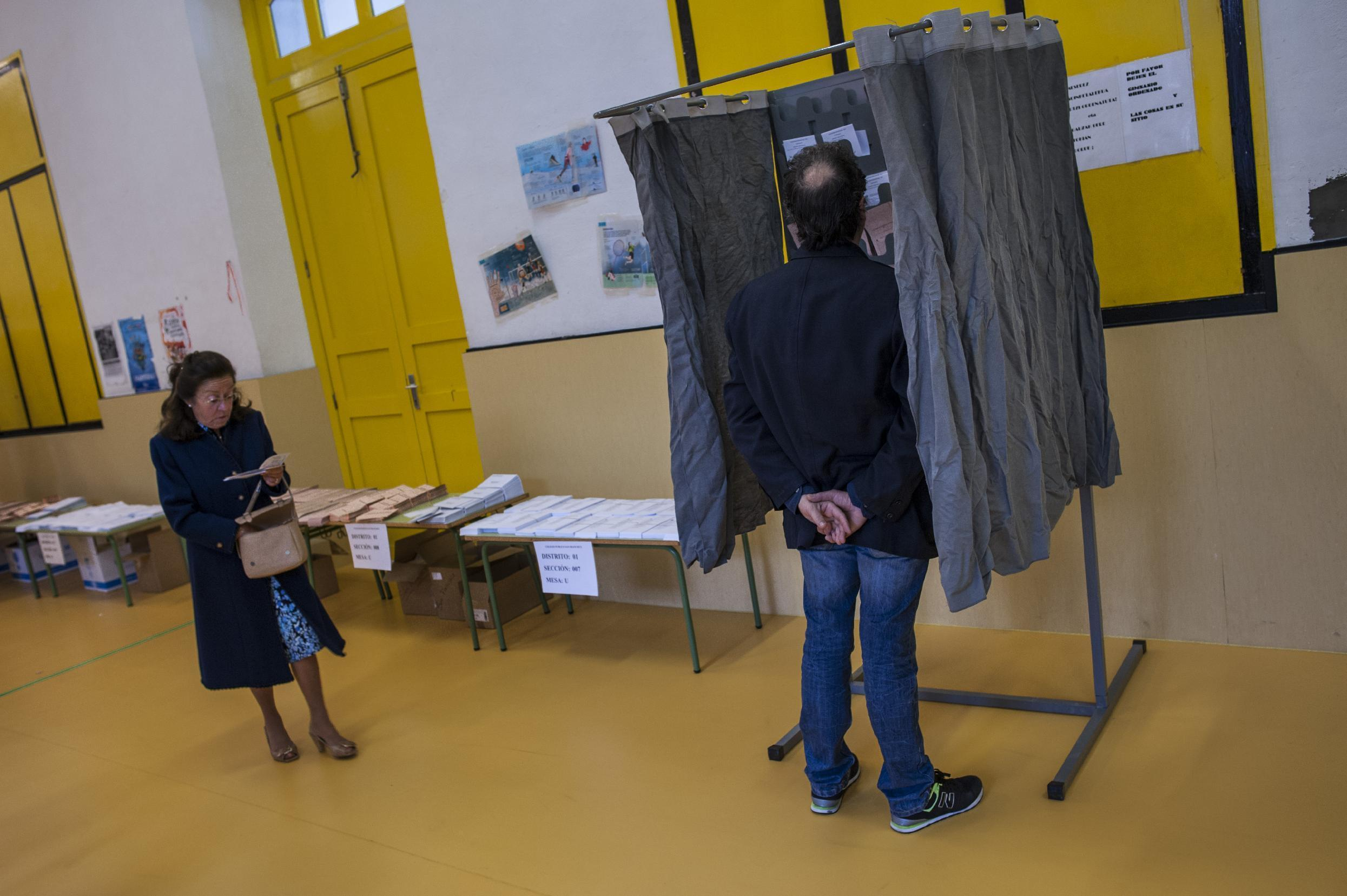 Local elections in Spain test upstart parties' voter appeal