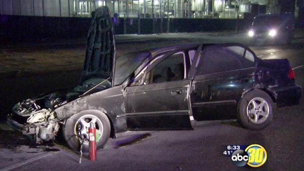 High speed chase in Fresno and Clovis ends with arrest