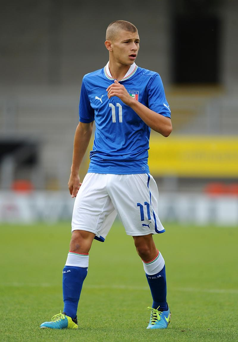 <p>The 20-year-old Italian midfielder is now back at Cagliari after successful loan spell at Serie B side Como last season and will be looking to attract Serie A sides after he leads the Azzurri side in Korea. </p>