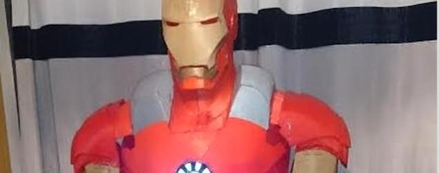 Fan builds 'Iron Man' suit over course of 14 months