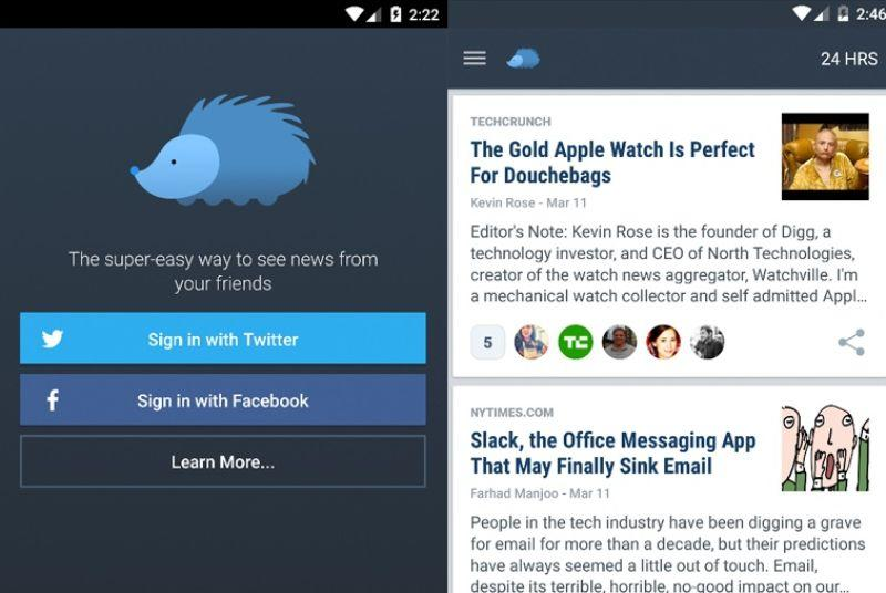 Nuzzel for Android lets you know what stories your friends are talking about
