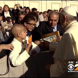 New Jersey Girl Battling Cancer Shares Story Of Meeting Pope Francis