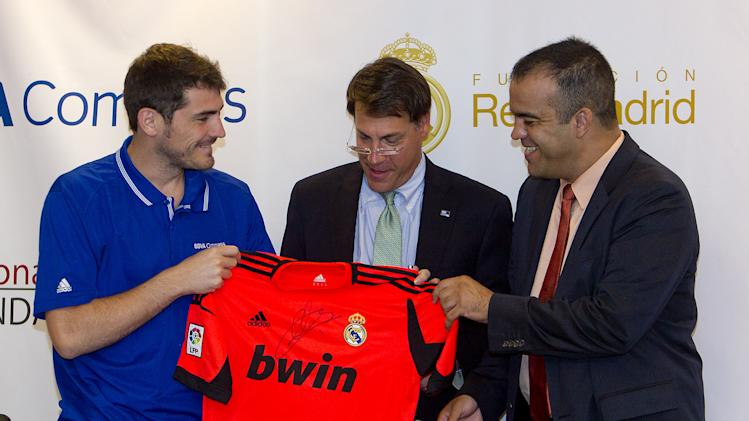 Iker Casillas, BBVA Compass And Real Madrid Foundation Launch Sports And Achievement Academy