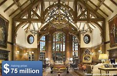 A cabin in the woods -- billionaire-style.