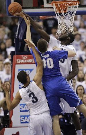 Creighton hits 21 3s in 96-68 win over No. 4 Nova