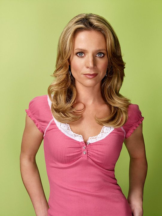 "Jessalyn Gilsig -- best known for her roles as Gina Russo, ""Nip/Tuck's"" resident sex addict with a borderline personality disorder and ""Boston Public's"" painfully conservative social studies teacher -"