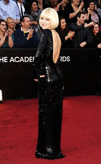 Oscars 2012 Red Carpet