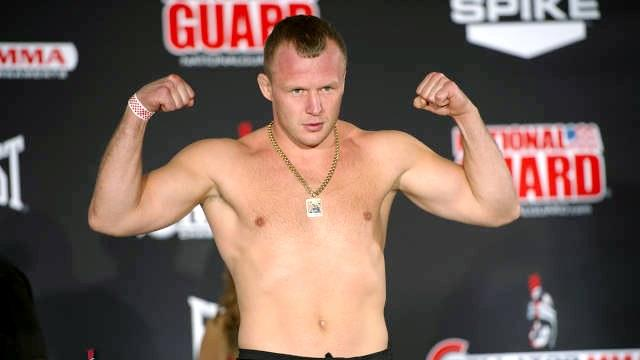 First It's Tito Ortiz, Then Alexander Shlemenko Wants to Conquer the World