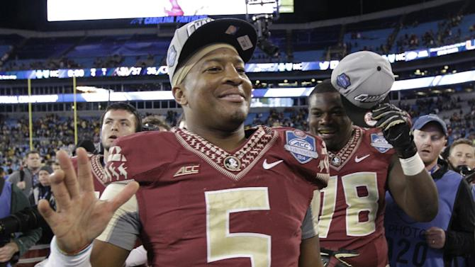 Jameis Winston is in his 'sanctuary' at Rose Bowl