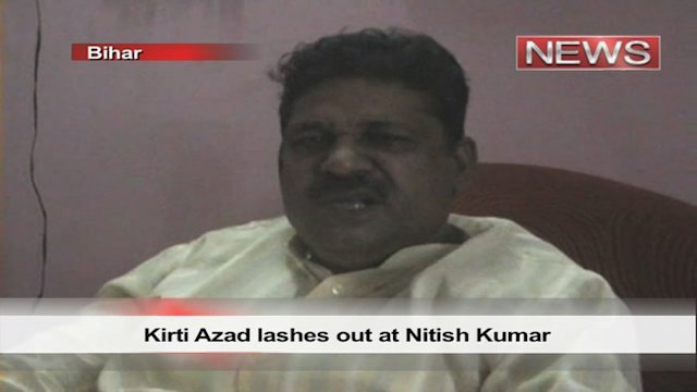 Kirti Azad lashes out at Nitish Kumar