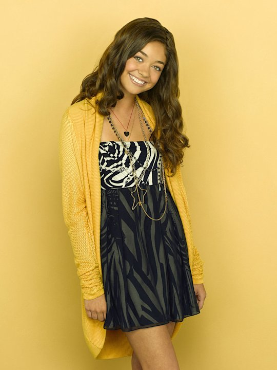 "Sarah Hyland in the ABC series ""Modern Family"""