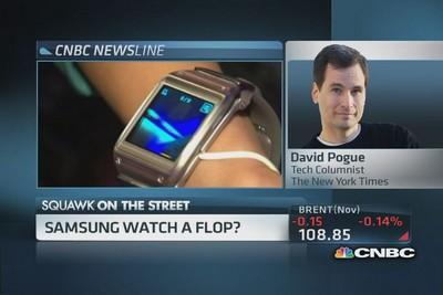 Samsung watch: 'Nobody can use this thing'