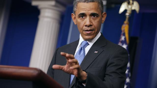 Obama addresses Syria, Jason Collins in press conference