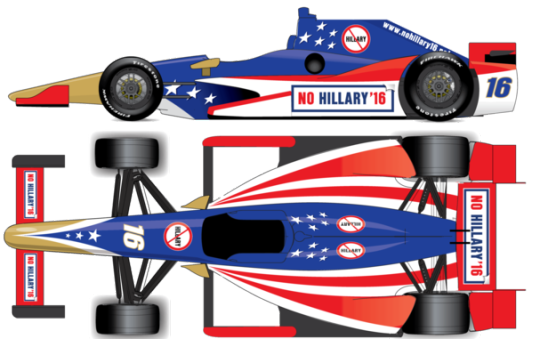 Anti-Hillary Clinton Group Hopes To Crowdfund Its Way Into The Indy 500