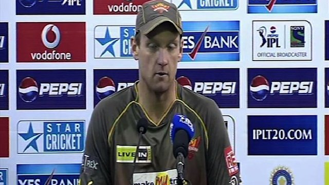 Hyderabad Sunrisers post-match press conference