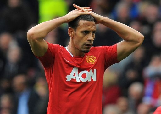 Manchester United's Rio Ferdinand