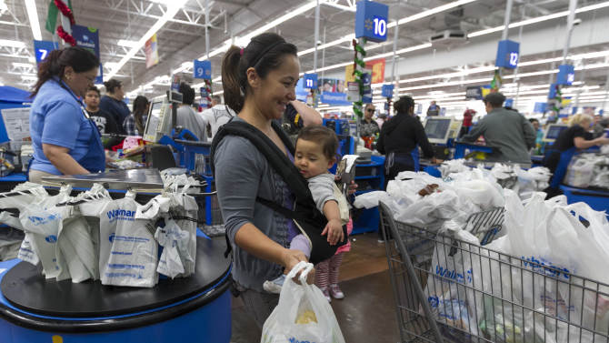 Wal-Mart outlook gives glimpse of economy