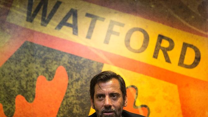 Watford went through four managers last term, then parted company with Slavisa Jokanovic in the close season to make way for former Valencia and Atletico Madrid coach Quique Sanchez Flores, pictured