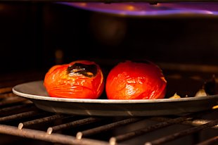 broiling tomatoes