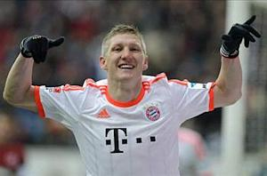 Eintracht Frankfurt 0-1 Bayern Munich: Sublime Schweinsteiger seals 23rd title with six rounds to spare