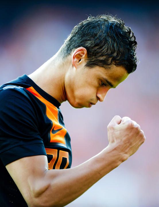 Netherlands' Ibrahim Afellay Reacts  AFP/Getty Images