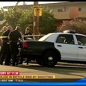 Man killed in bicycle ride-by shooting