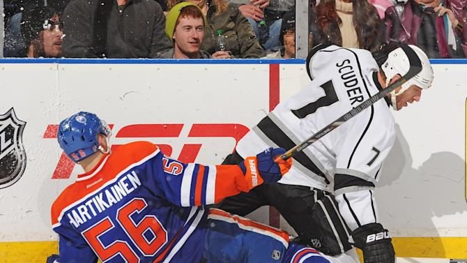 Los Angeles Kings v Edmonton Oilers