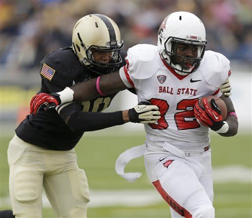 Edwards, Wenning lead Ball State over Army 30-22