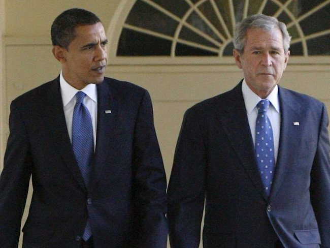 The White House fires back at George W. Bush