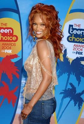 Tyra Banks The 2004 Teen Choice Awards on Fox